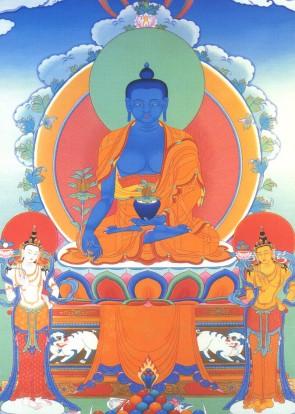 Bhaisajyaguru_blue_with_bodhisattvas